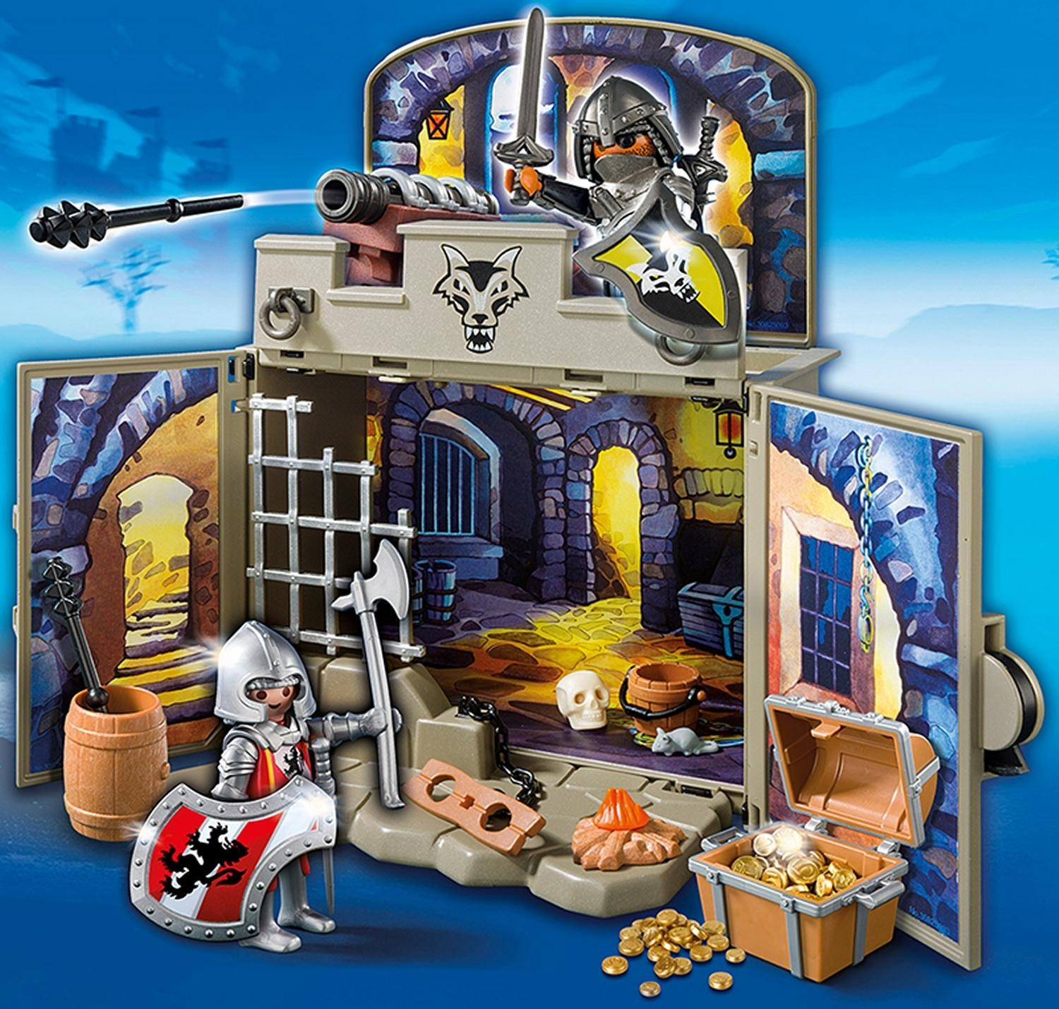 6156PM PM MY SECRET KNIGHTS' TREASURE ROOM PLAY BOX
