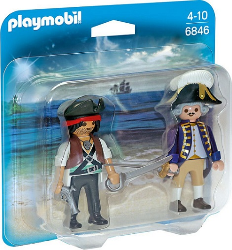 6846PM PIRATE AND SOLDIER DUO PACK