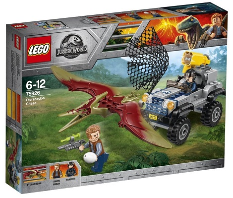 75926 PTERANODON CHASE BUILDING SET