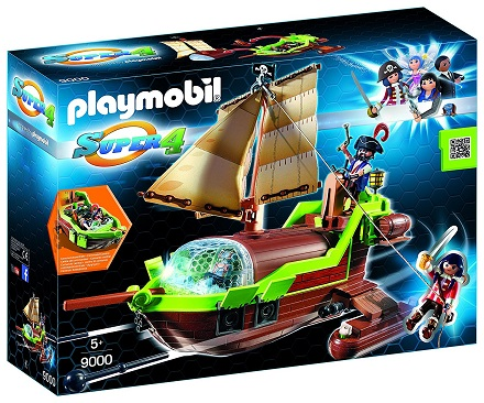 9000PM PIRATE CHAMALEON WITH RUBY PLAY SET